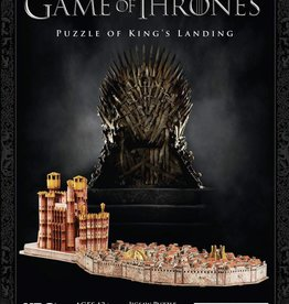 HBO Game of Thrones Puzzle of King's Landing 3D