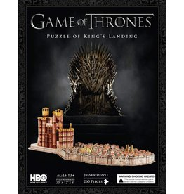 Game of Thrones Puzzle of King's Landing 3D