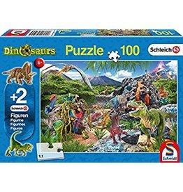 Schleich Dinosaurs Puzzle 100 Pieces