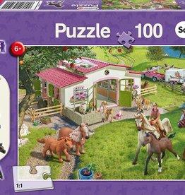 Schmidt Schleich Horse Club Puzzle 100 Pieces