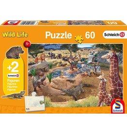 Schleich Wild Life Puzzle 60 Pieces