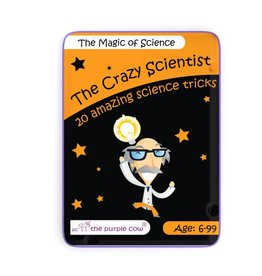 The Purple Cow The Crazy Scientist - The Magic Of Science