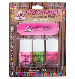 Piggy Paint 3 Pack w/ Nail File - lol/Dragon tears/Pinkie Promise