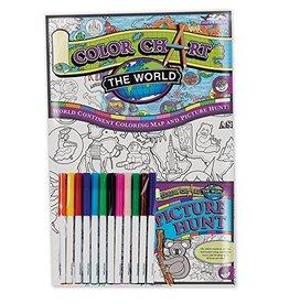 MindWare Colour Chart: World