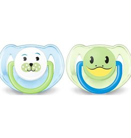 Avent Animals Pacifier Toddler Boys 0-6M