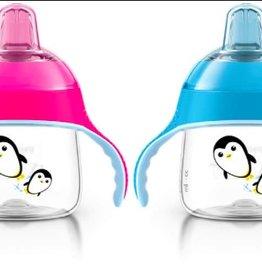 Premium Spout Penguin Cup 7oz 6m+