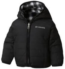 Columbia Double Trouble Jacket Black Plaid