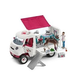 Schleich Mobile Vet with Hanoveria
