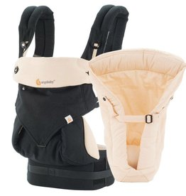 Ergobaby 360 4 Position Bundle of Joy  - Black/Camel