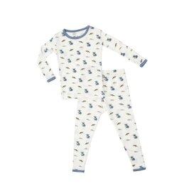 Kyte Baby Printed Toddler Pajama Set in Aussie