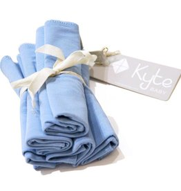 Kyte Baby Washcloth 5-Pack in Sky