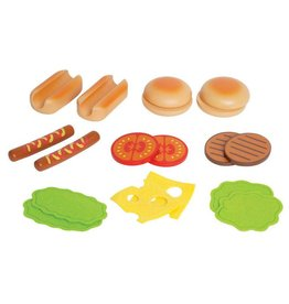Hape Hamburger and Hotdogs
