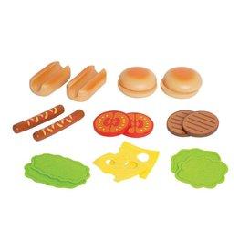 Hape Hamburger and Hotdogs