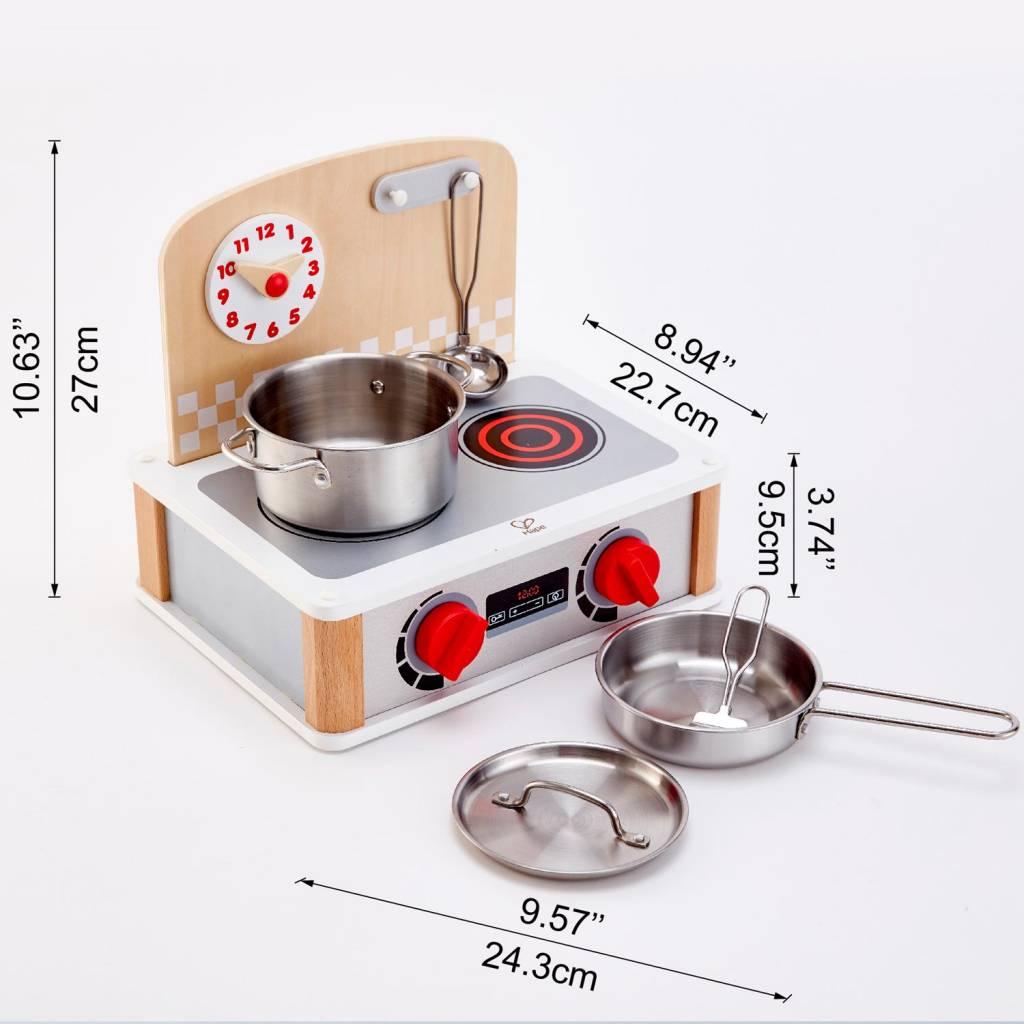 Hape 2-in-1 Kitchen & Grill Set - Grow Children\'s Boutique Ltd.
