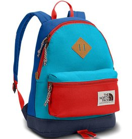 The North Face Mini Berkeley Backpack - Turkish Sea/Fiery Red