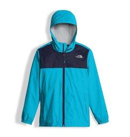 The North Face Boys' Zipline Rain Jacket Turquoise Blue