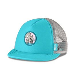 The North Face Mini Trucker Hat Blue Curacao