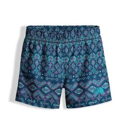 The North Face Toddler Hike/Water Short Blue Wing Teal Medallion Print