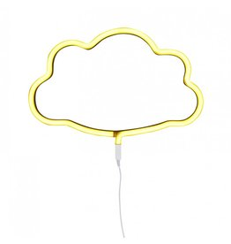 A Little Lovely Company Neon Light: Cloud - Yellow