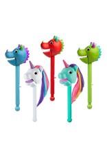 Educational Insights Puppet On A Stick Mint Unicorn