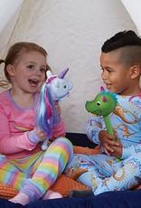 Educational Insights Puppet On A Stick White Unicorn