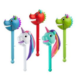 Educational Insights Puppet On A Stick Green Dragon