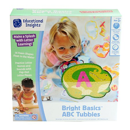 Educational Insights Bright Basics ABC Tubbies