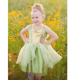 Great Pretenders Tinkerbelle Tea Party Dress, Green, Size 5-6