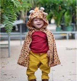 Great Pretenders Toddler Giraffe Cape, Size 1-3