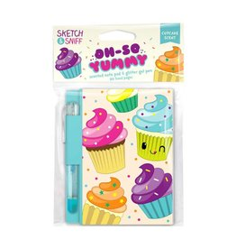 Yummy Sketch & Sniff Note Pads - Cupcake