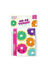 Yummy Sketch & Sniff Note Pads - Jelly Donut