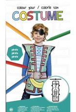 Colour your Costumer Pirate