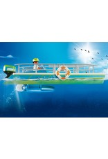Playmobil Glass-Bottom Boat with Underwater Motor