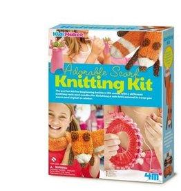 4M Scarf Knitting Set