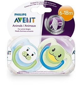 Avent Animal Pacifier  6-18 mo