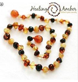 Healing Amber Multi ~ Circle ~ 18