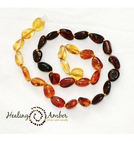 Healing Amber Rainbow ~ Oval ~ 15 inches