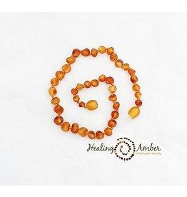 Healing Amber Raw Caramel ~ Circle ~ 11 inches