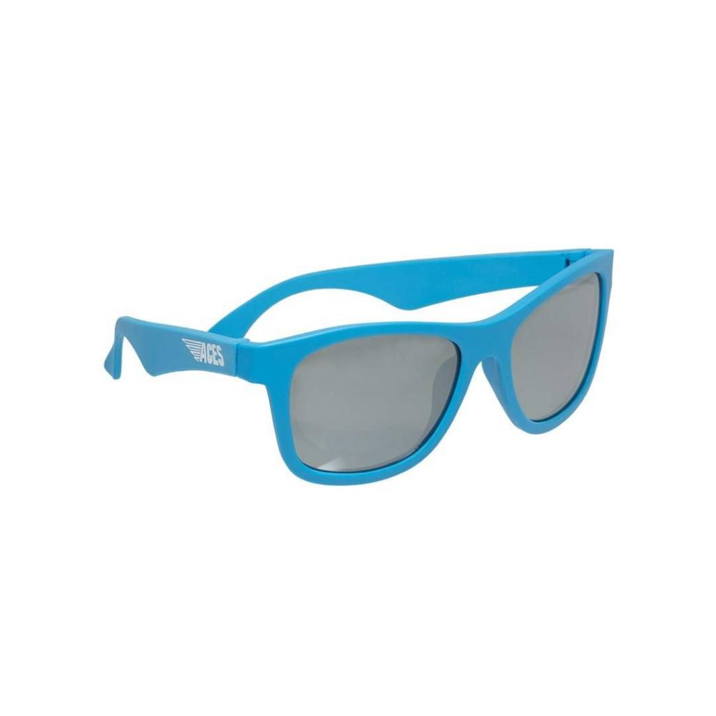 Babiators Aces - Navigator Blue Crush with Mirrored Lense