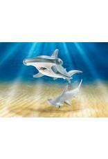 Playmobil Hammerhead Shark with Baby