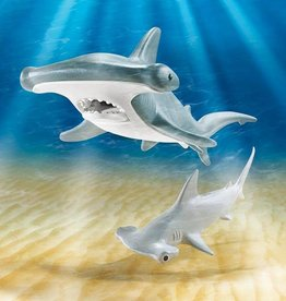 Playmobil Hammerhead Shark with Baby
