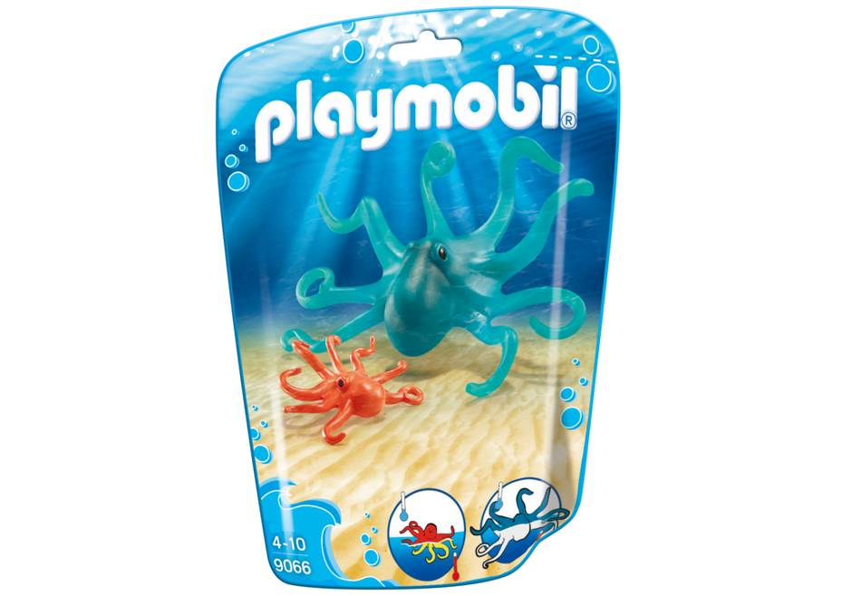 Playmobil Octopus with Baby