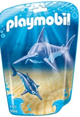 Playmobil Swordfish with Baby