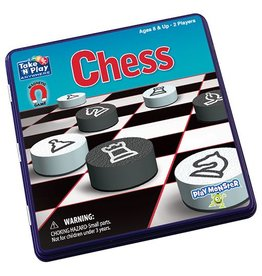 PlayMonster Chess Game Tin