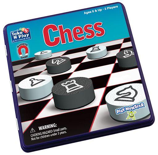 PlayMonster Chess Game Tin