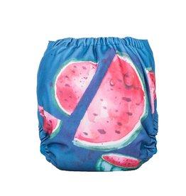 Funky Fluff One-size Swim Diaper Watermelon