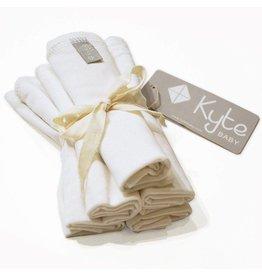Kyte Baby Washcloth 5-Pack in Cloud