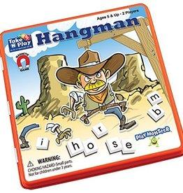 PlayMonster Hangman Game Tin (Bilingual)