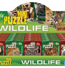 D-Toys Wildlife Mini Puzzels