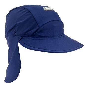 Baby Banz Flap Hat Navy Medium